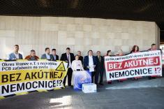 Protest za nemocnicu
